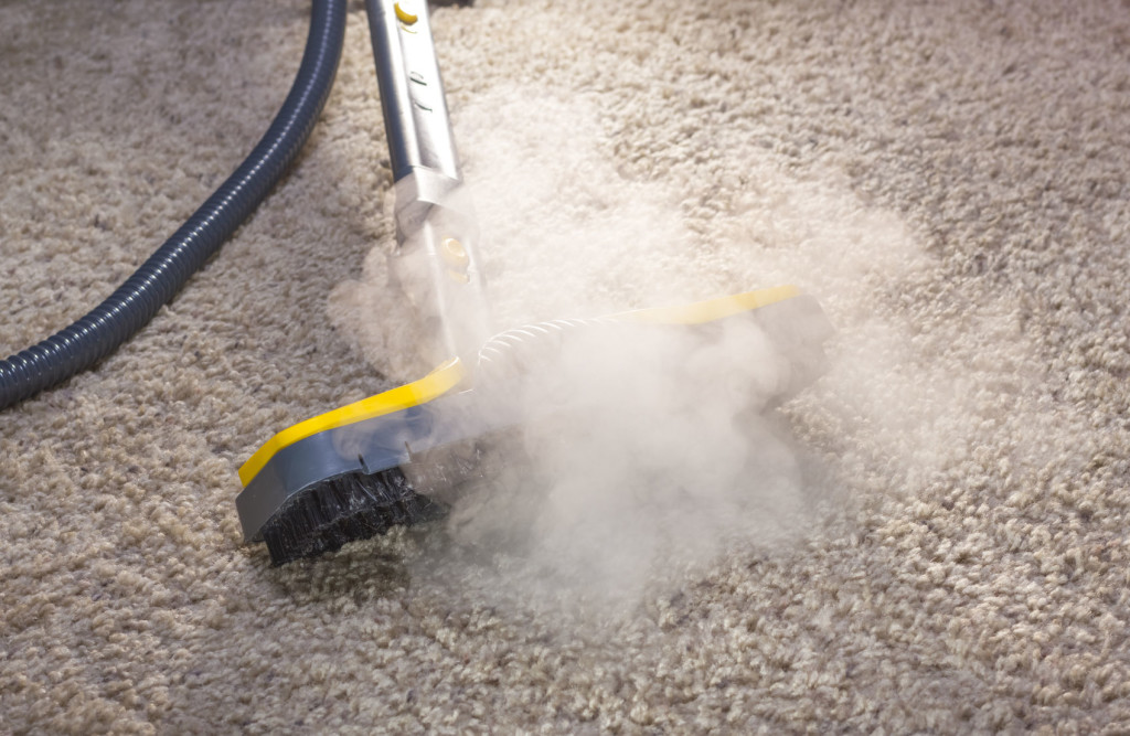 Steam clean your carpets