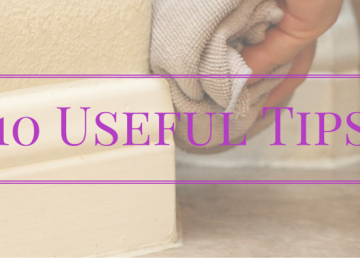 best way to clean baseboards