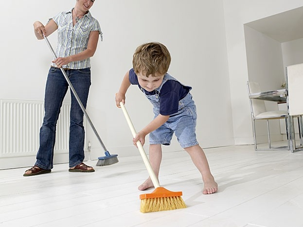 sweep your floors