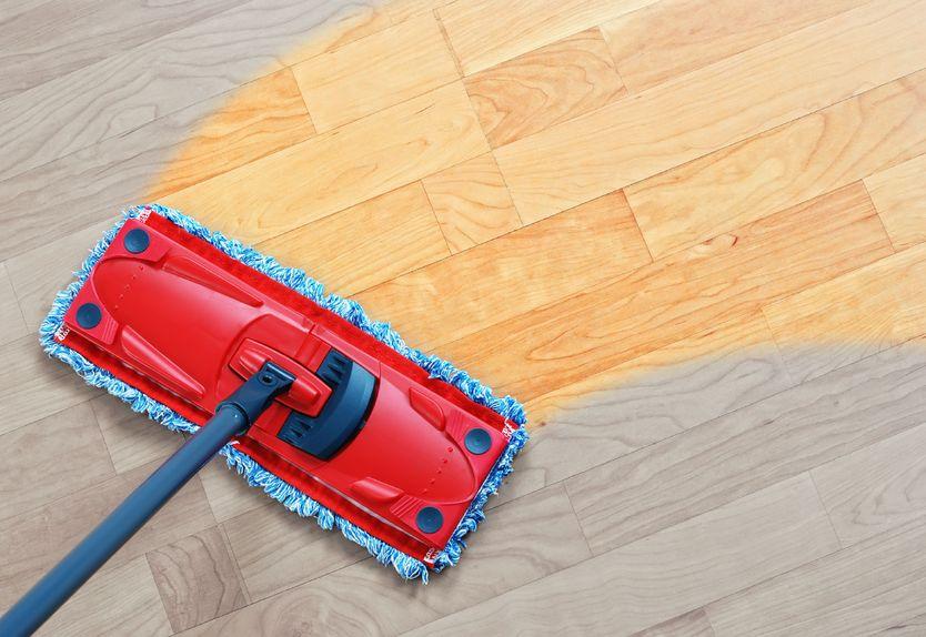sweep floor