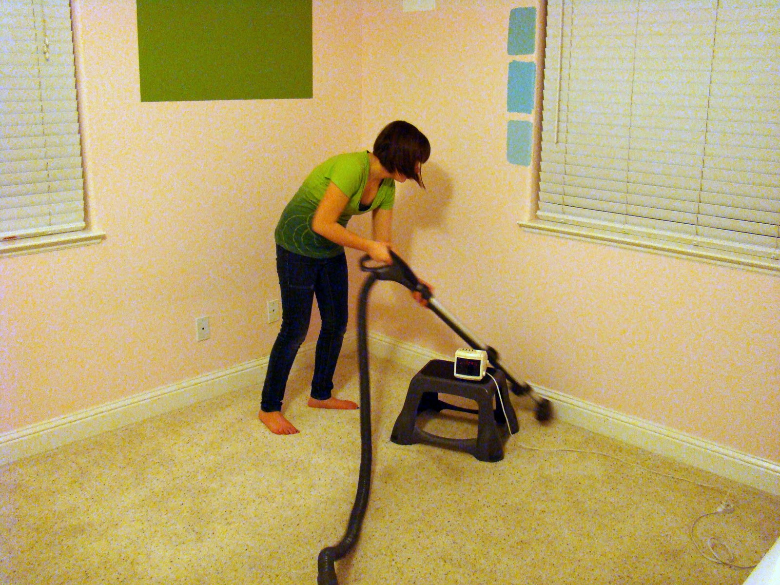 vacuum the baseboards
