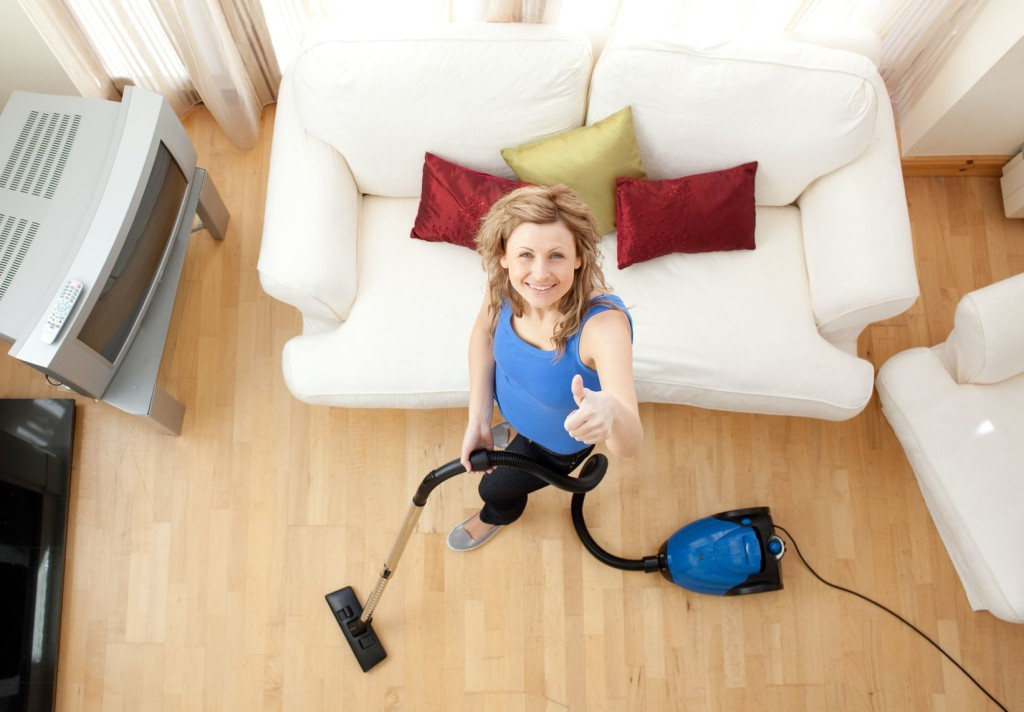 vacuum your hardwood floors