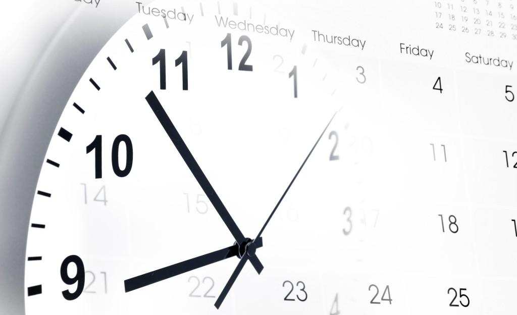 clock and calender