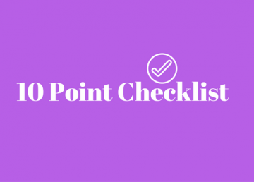 10 point checklist