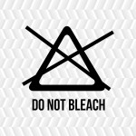 laundry - do not bleach