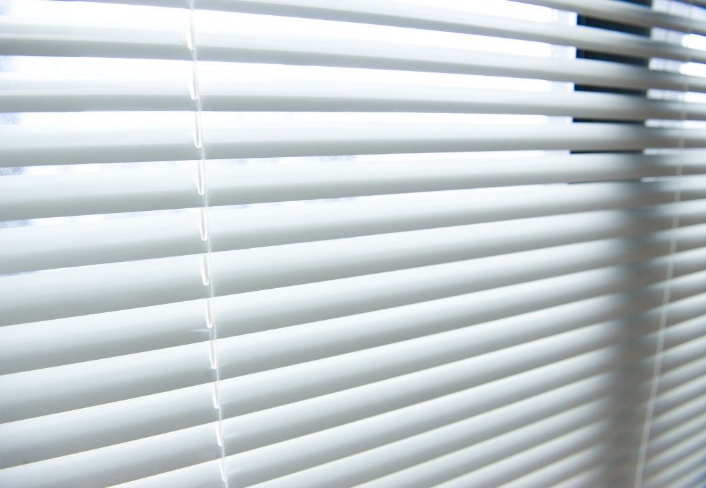 window blinds plastic